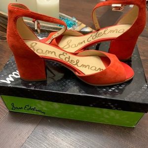 Sam Edelman Block Heel Shoes